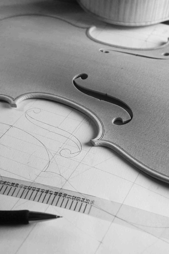 Patrick Robin - Violin Maker - Maitre d'art -France