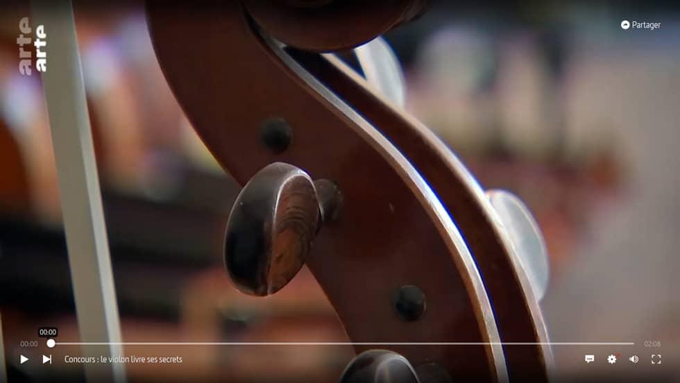 arte - Le violon livre ses secrets - media